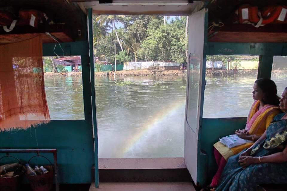 A ferry ride in Cochin